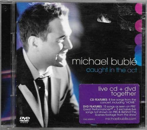 Michael Buble<br>Caught In The Act<br>CD + DVD